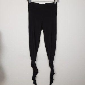 ABI FERRIN Codi leggings black spandex size XS